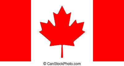 drapeau, canadien