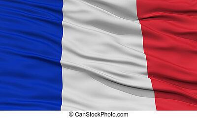drapeau, closeup, france
