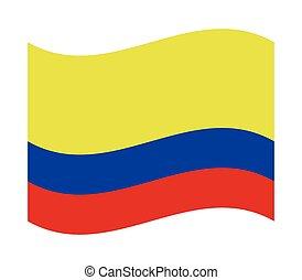 drapeau, colombie