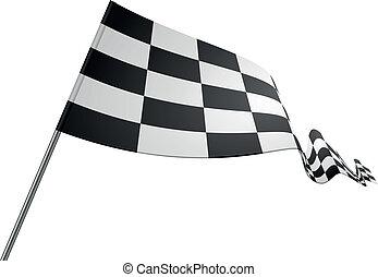drapeau, courses