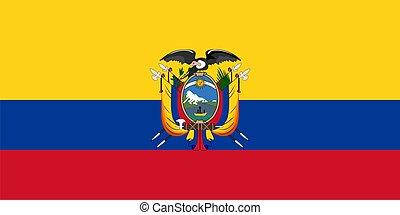 drapeau, de, équateur