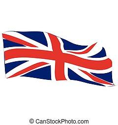 drapeau, de, les, royaume-uni