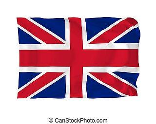 drapeau, de, royaume-uni