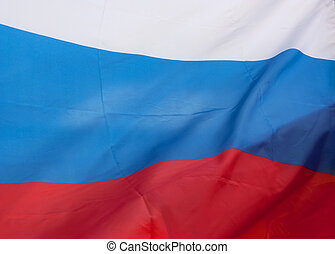 drapeau, de, russie