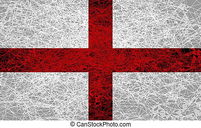 drapeau, england.
