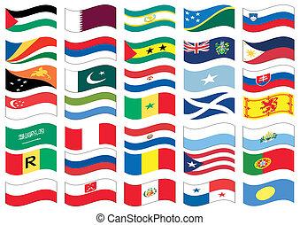 drapeau, ensemble