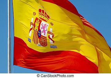 drapeau, espagnol