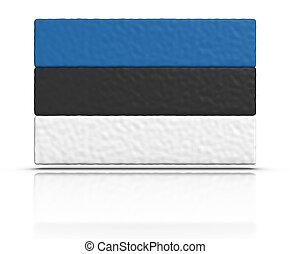 drapeau, estonie