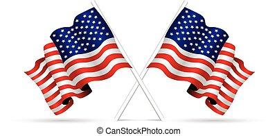 drapeau etats-unis, national