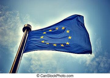 drapeau européen syndicats