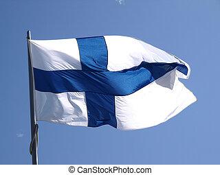drapeau, finlandais