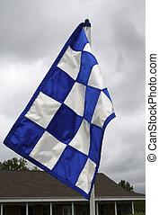 drapeau, golf