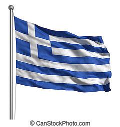 drapeau, Grèce