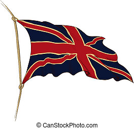 drapeau, grande-bretagne