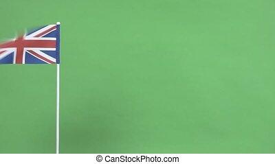 drapeau, grea, royaume-uni, vrai