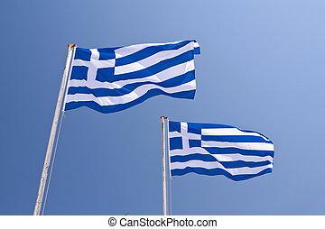 drapeau grec
