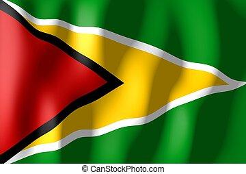 drapeau, guyane
