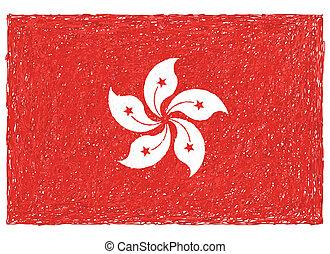 drapeau, hong kong