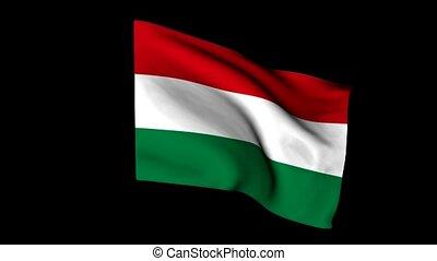 drapeau hongrie, européen