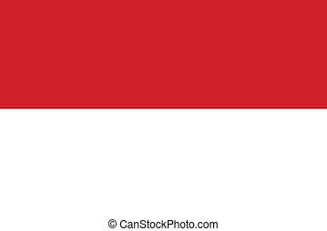 drapeau, indonésie