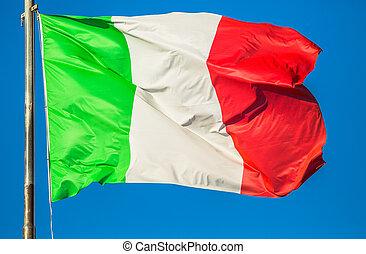 drapeau italie, ciel