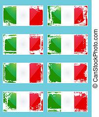 drapeau, italie