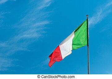 drapeau, italien