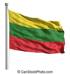drapeau, Lituanie