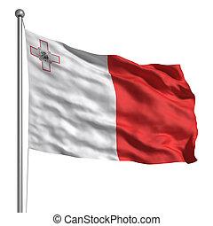 drapeau, Malte
