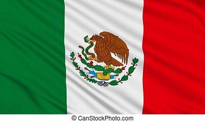 drapeau, mexicain
