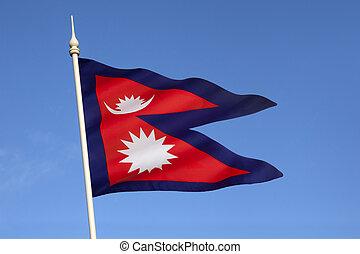 drapeau, népal
