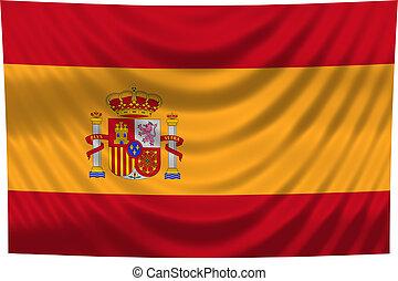 drapeau national, espagne