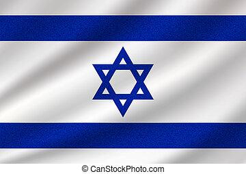 drapeau national, israël