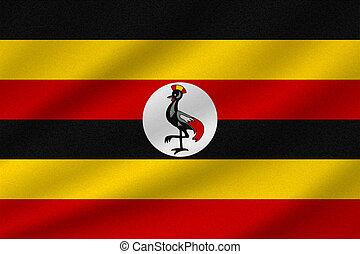 drapeau national, ouganda