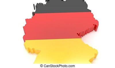 drapeau, national, plaque, recettes, plats, europe.,...