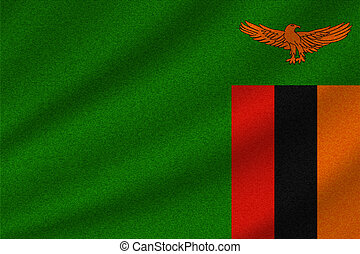 drapeau national, zambie