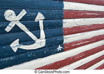 drapeau, nautique
