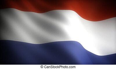 drapeau, netherland, (seamless)
