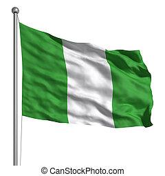 drapeau,  nigeria