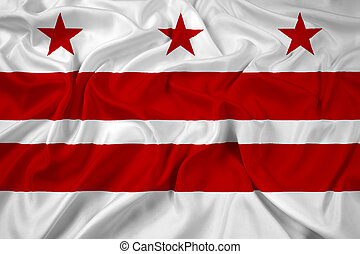 drapeau ondulant, washington dc