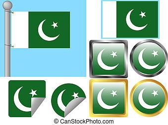 drapeau pakistan, ensemble