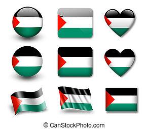 drapeau, palestinien