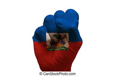 drapeau, poing