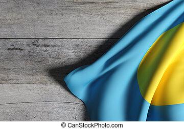drapeau, république, palaos