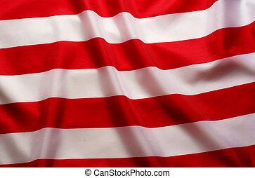 drapeau, raies, américain, fond, blanc rouge