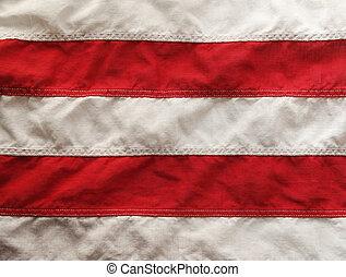 drapeau, raies