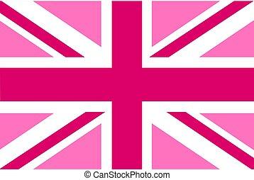 drapeau, rectangulaire, forme, fond, blanc, icône