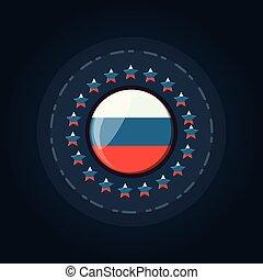 drapeau russe, conception