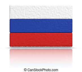drapeau, russie