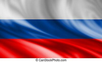 drapeau, russie, fond
